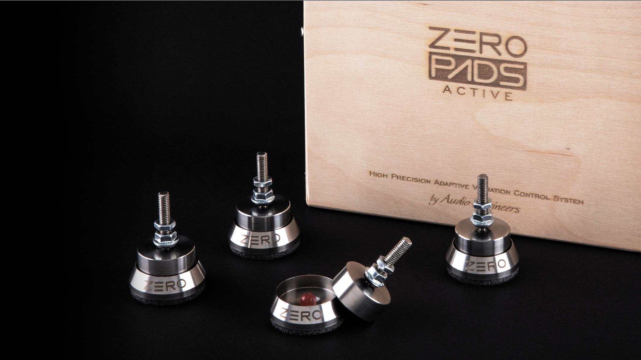 audio engineers, zeropads ultra, zeropads hifi feet, anti-vibration spike, isoacoustics, stillpoints, finite elemente, soundcare