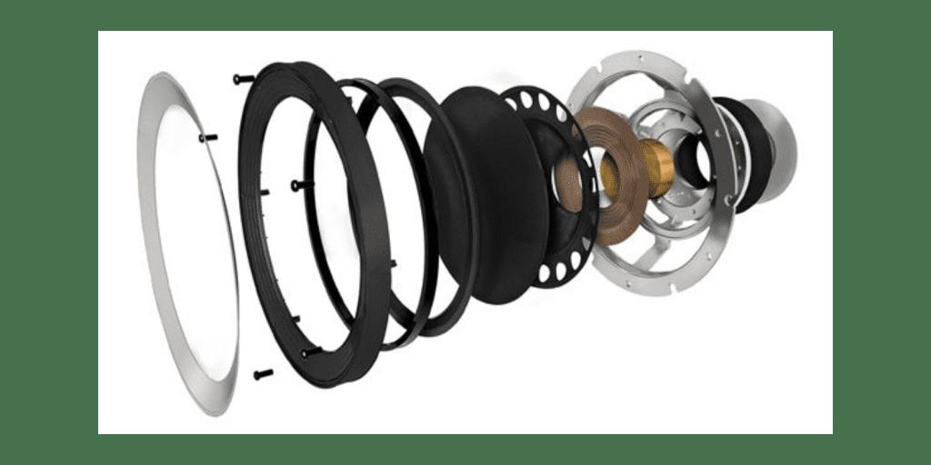 KEF R5, KEF R5 teszt, KEF R5 test, Audio Engieers ZeroPads, ZeroPads audio feet, Lightspeed tápkábel, Lightspeed power cable, Lightspeed power cord, AV-Magazin.hu