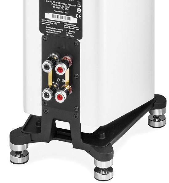 ELAC Carina FS247.4 teszt, ELAC Carina FS247.4, ELAC Carina FS247.4 test, Lightspeed tápkábel, Lightspeed power cable, Lightspeed power cord, AV-Magazin.hu