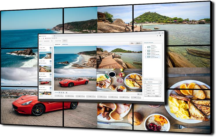 divip video-processzor video-processor user interface